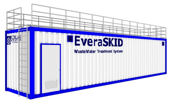 EveraSKID Water Treatment Container